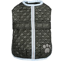 Zack & Zoey Quilted Thermal Nor'easter Coat - Green (XSmall)