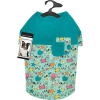 Zack & Zoey Sun & Sea Patchwork Tee - Large