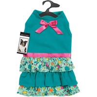 Zack & Zoey Sun & Sea Ruffle Dress - Small