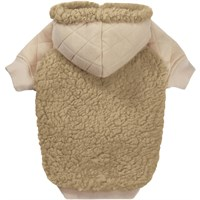 Zack & Zoey Teddy Bear Fleece Hoodie - Large