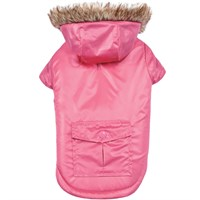Zack & Zoey Elements Reversible Thermal Parka - Pink (Medium)