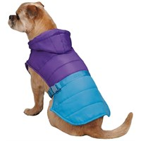 Zack & Zoey Trek Puffy Jacket - Purple (Small)