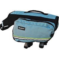 ZippyPaws Adventure Backpack for Dogs - Forest Green (XLarge)
