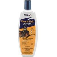 Zodiac Flea & Tick Shampoo for Dogs & Cats (12 oz)