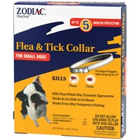 Zodiac Flea &amp; Tick Collar for Small Dogs (5 Months)