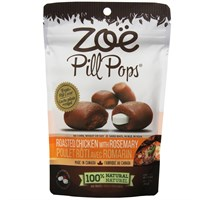 Zoe Pill Pops Roasted Chicken with Rosemary (3.5 oz)