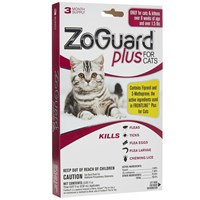 ZoGuard Plus for Cats (3 Pack)