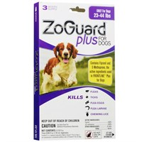 ZoGuard™ Plus for Dogs 23-44 lbs (3 Pack)