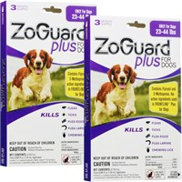 ZoGuard™ Plus for Dogs 23-44 lbs (6 Pack)