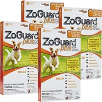 ZoGuard™ Plus for Dogs 4-22 lbs (12 Pack)