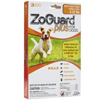 ZoGuard™ Plus for Dogs 4-22 lbs (3 Pack)