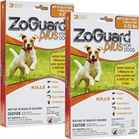 ZoGuard™ Plus for Dogs 4-22 lbs (6 Pack)
