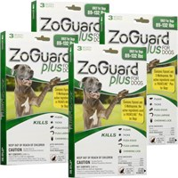 ZoGuard Plus for Dogs 89-132 lbs (12 Pack)