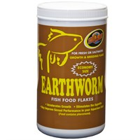 Zoo Med Earthworm Fish Food Flakes (2 lb)