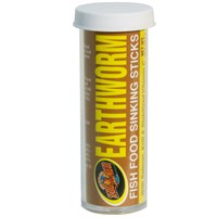 Zoo Med Earthworm Fish Food Sinking Sticks (2 lb)