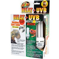 Zoo Med Heat & UVB Reptisun Basking Spot Lamp (100 watts)
