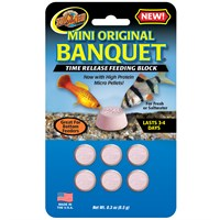 Zoo Med Original Banquet Feeding Block - Mini (1000 count)