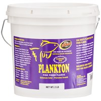 Zoo Med Plankton Fish Food Flakes (2 lb)