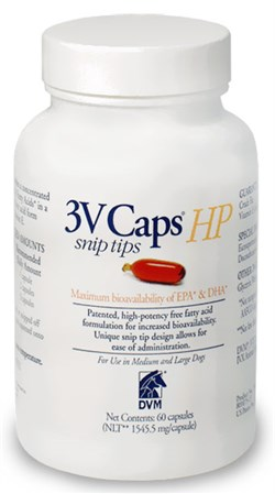 Image of 3V Caps HP SNIP TIP for MEDIUM & LARGE DOGS (60 Caps, 1545.5 mg/capsule)