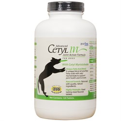 Image of Advanced Cetyl M for Dogs (120 Tablets)