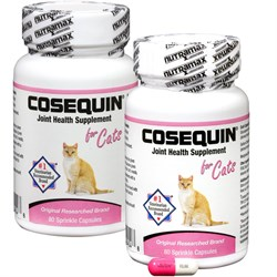 Image of 2 PACK Cosequin for Cats 80 count (160 CAPSULES)