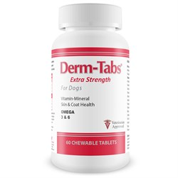 Image of Derm-Tabs® Extra Strength for Dogs (60 Chewable Tablets)