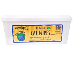 Image of Earthbath Hypo-Allergenic Cat Wipes (100 wipes)
