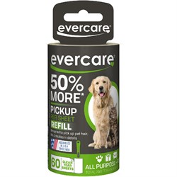 """Image of Evercare Pet Hair Lint Roller Refill 60 layers (30.1 ftx4"""")"""