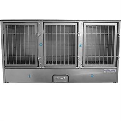 Groomers Best 3 Unit Cage Bank