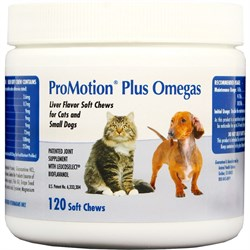 Image of Promotion Plus Omegas Soft Chews - Cats & Small Dogs (120 ct)