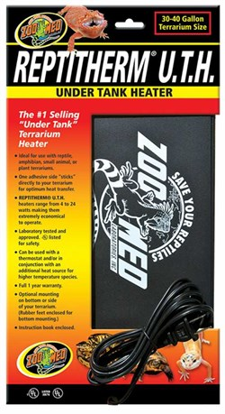 """Image of Reptitherm Under Tank Heater (30-40 gallons) 8"""" by 12"""""""