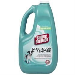 simplesln1gal SIMPLE SOLUTION Stain &amp; Odor Remover for CATS &amp; DOGS (1 GALLON)