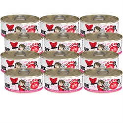 12 PACK Weruva Best Feline Friend Canned Cat Food Tuna Too Cool Recipe 66 oz