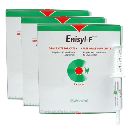 3-PACK Enisyl-F Amino Acids For Felines (12x15ml Tubes)
