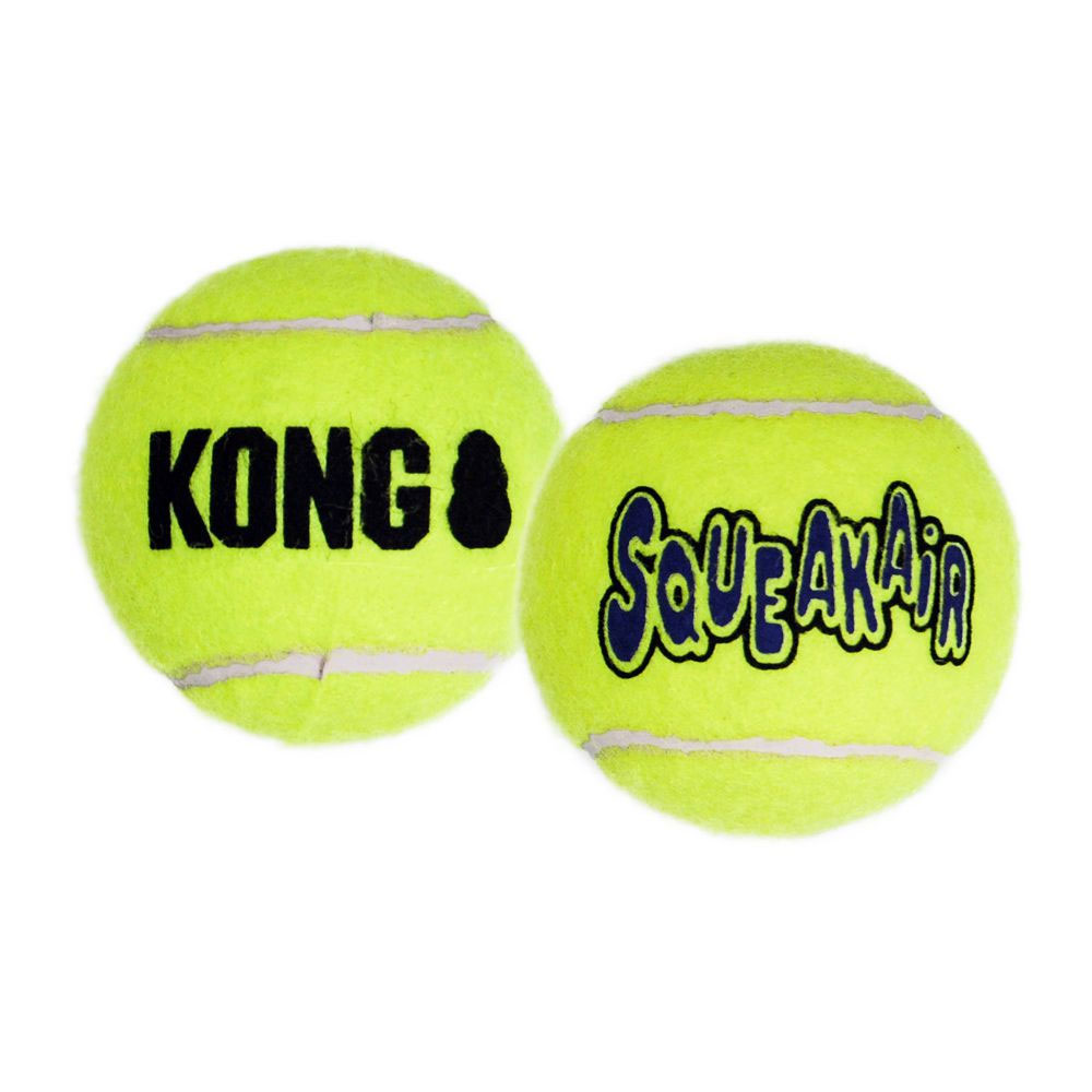 Air KONG Squeaker Tennis Balls (3-Pack) - MEDIUM