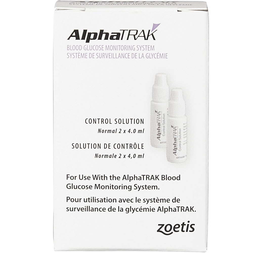 AlphaTRAK CONTROL SOLUTION - TWO 4.0 mL Bottles