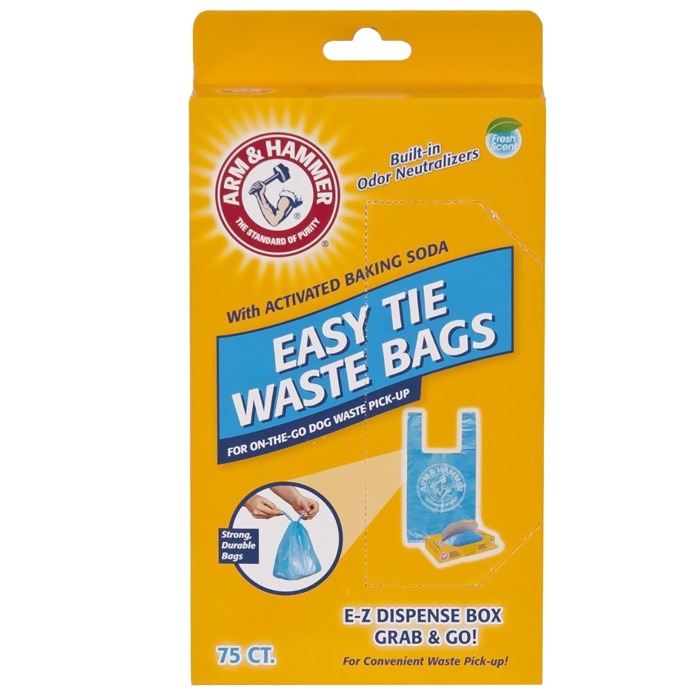 Arm &amp; Hammer Easy-Tie Waste Bags (75 Count)