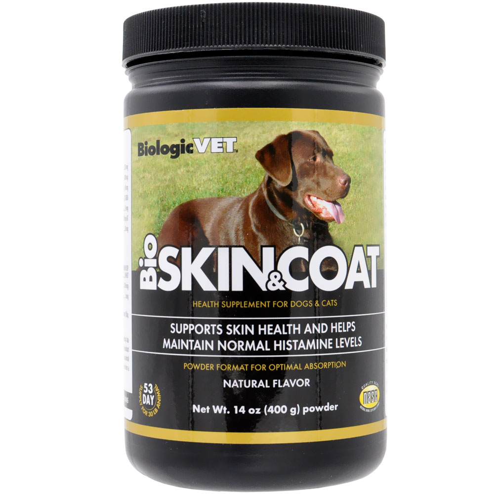 BiologicVet BioSkin & Coat for Dogs (14 oz)