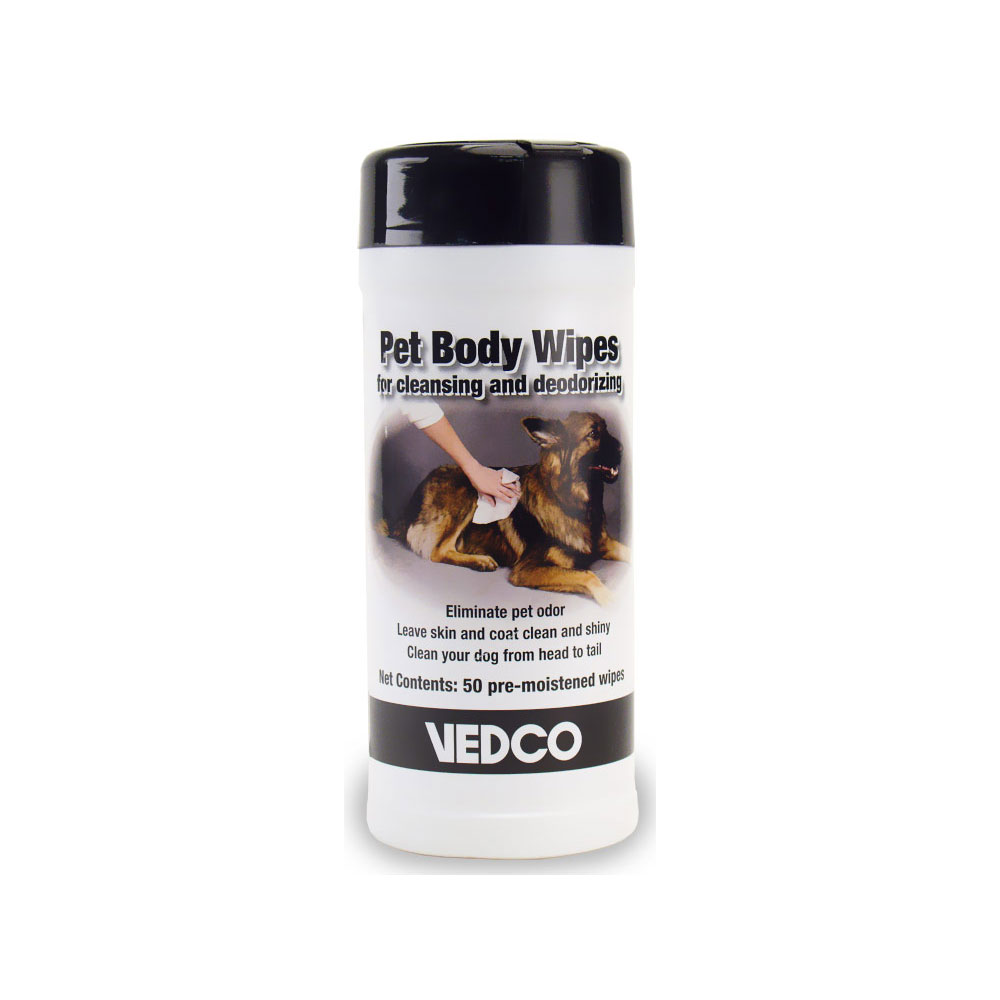 Vedco Pet Body Wipes (50 ct)