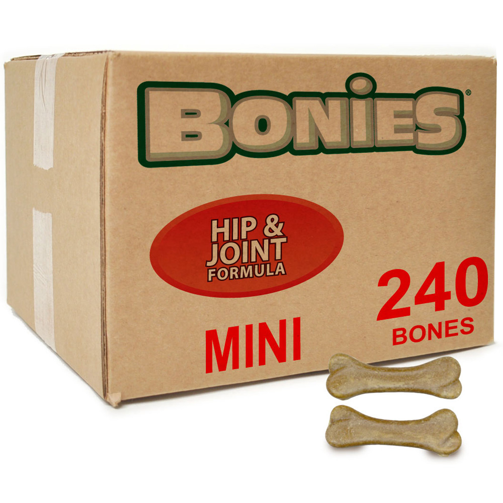 BONIES Joint Formula BULK BOX MINI (240 Bones)