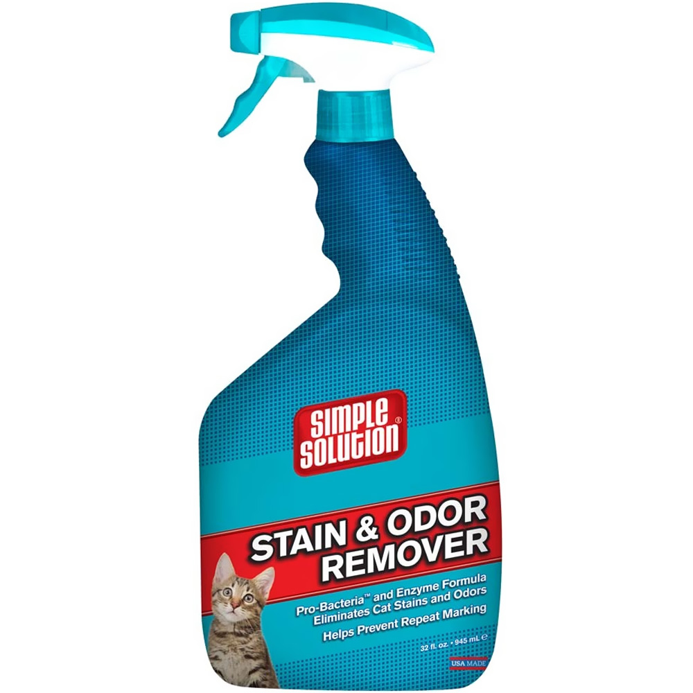 SIMPLE SOLUTION CAT Stain and Odor Remover (32 fl oz)