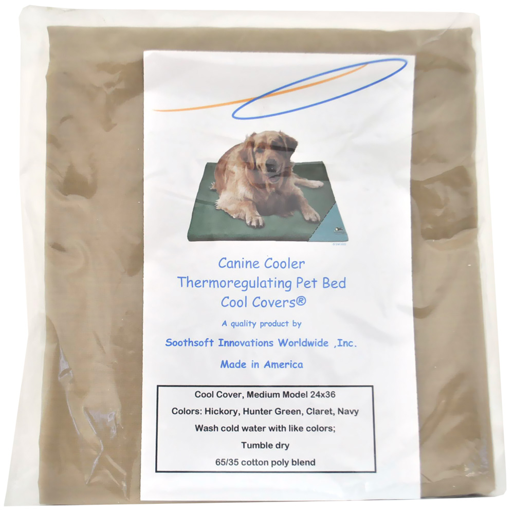 Canine Cooler Bed: Canine Cooler Bed Cover - LARGE