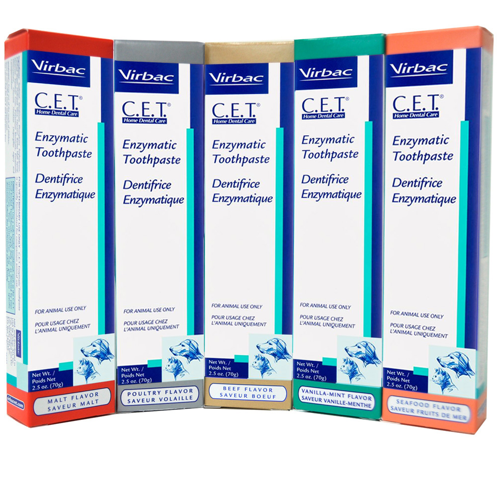 CET Toothpaste for Dogs & Cats