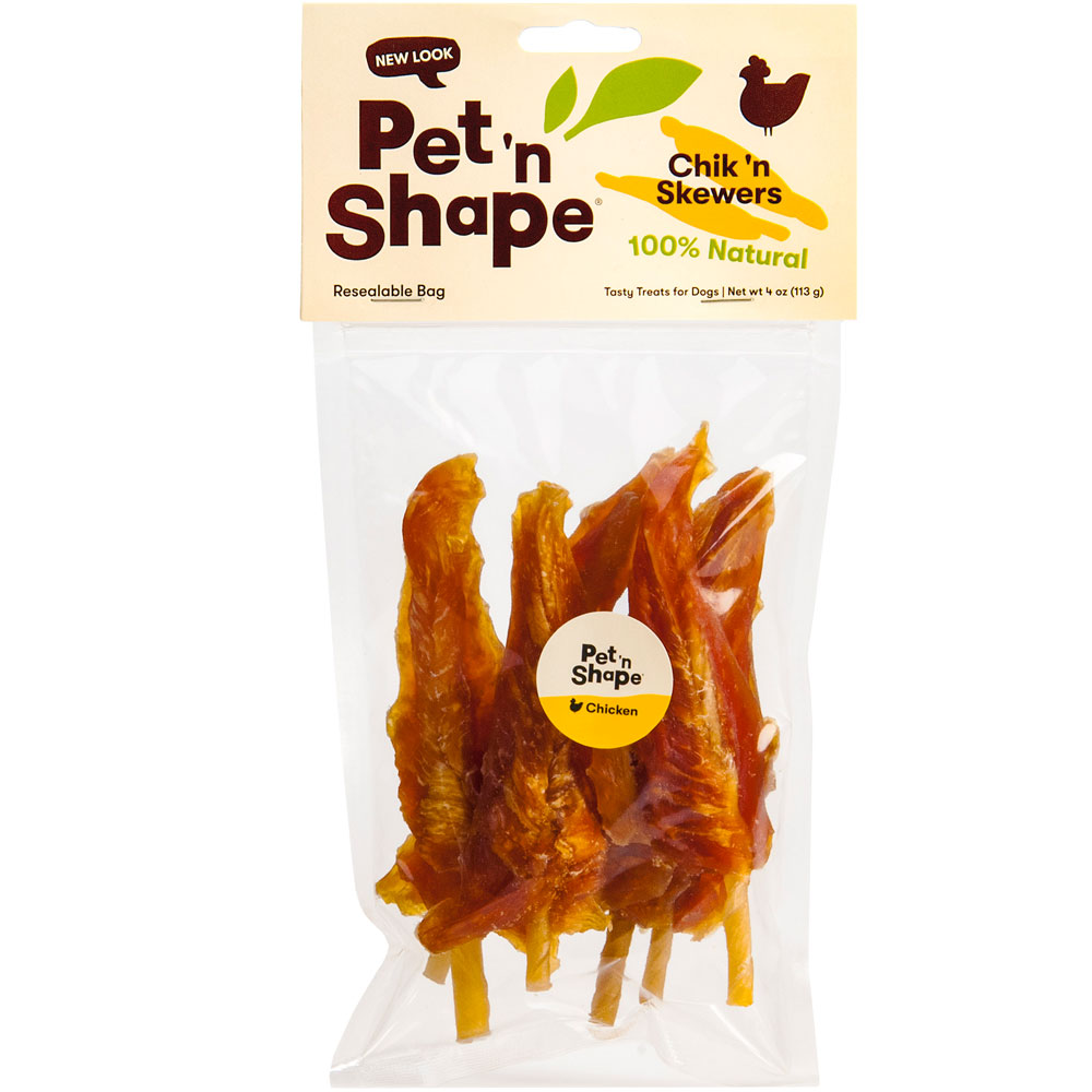 Pet 'n Shape Chik 'n Skewers - 4 oz
