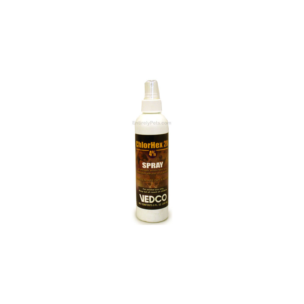 ChlorHex 2x 4% Spray for Dogs, Cats & Horses