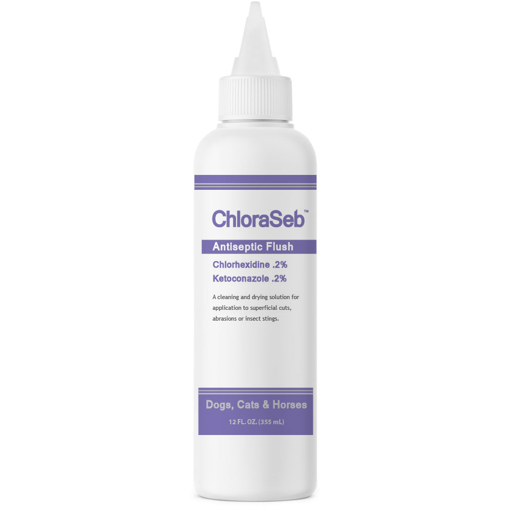 ChloraSeb Antiseptic Flush (12 fl oz)