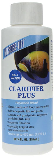 Microbe-Lift Clarifier Plus Salt Water (4 oz)