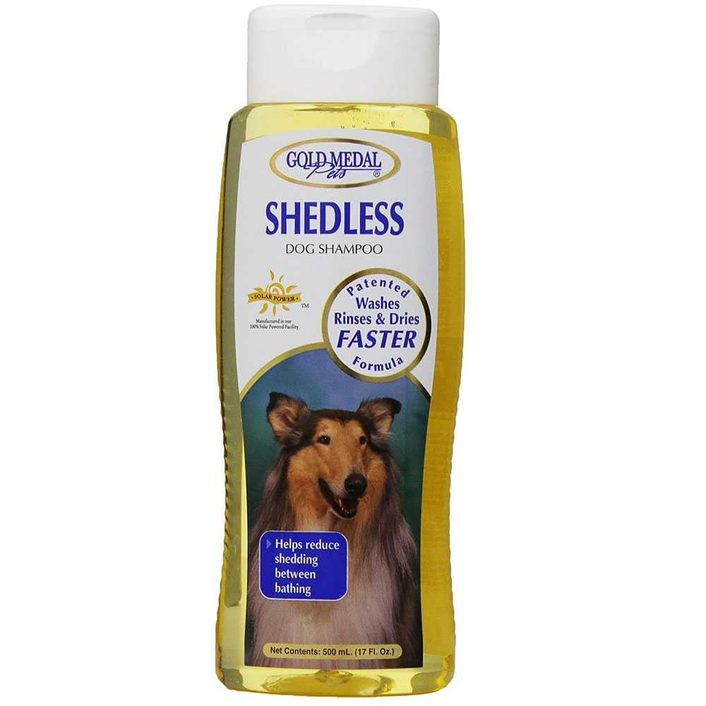 Gold Medal Shedless Dog Shampoo with Cardoplex (17 oz)