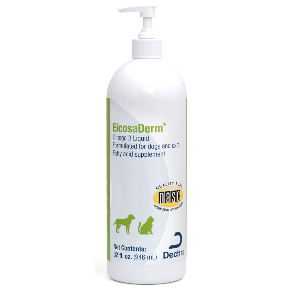 &quot;DermaPet&quot; Eicosaderm Liquid (32oz)