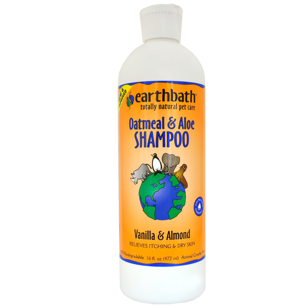 Earthbath Oatmeal & Aloe Shampoo Vanilla & Almond (16 fl. oz.)